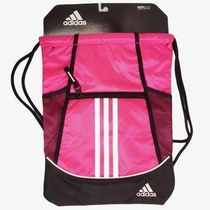 NEW Adidas Alliance II Sackpack Pink